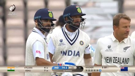 Pujara opens account with a cracking four | WTC21 Final | Ind v NZ