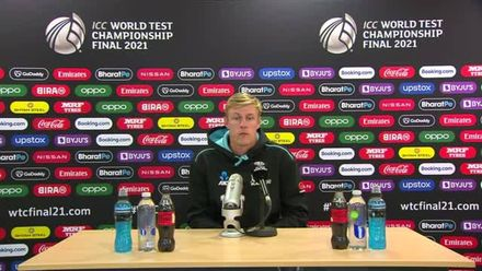 Kyle Jamieson Press Conference | Day 3 | WTC21 Final | Ind v NZ