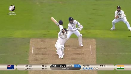 Conway slashes in style | WTC21 Final | Ind v NZ
