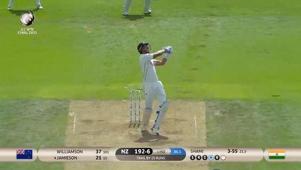 Shami ends Jamieson's cameo | WTC21 Final | Ind v NZ