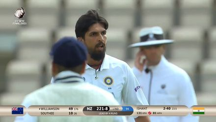 Williamson falls one short of a fifty | WTC21 Final | Ind v NZ
