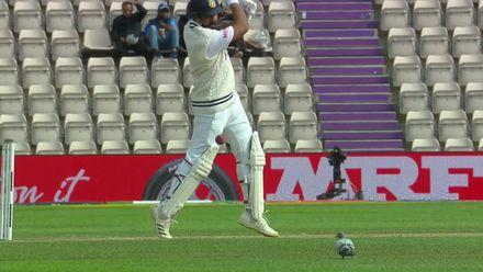 Rohit cracks one past backward point | WTC21 Final | Ind v NZ