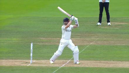 Williamson flays it through point | WTC21 Final | Ind v NZ