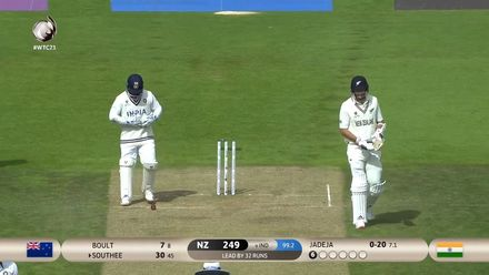 New Zealand bowled out for 249 | WTC21 Final | Ind v NZ