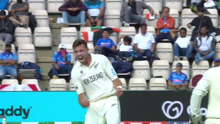 Gill trapped by Southee in front | WTC21 Final | Ind v NZ