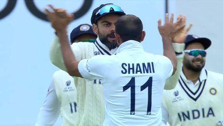 Gill takes a stunner, Shami sends back Taylor | WTC21 Final | Ind v NZ