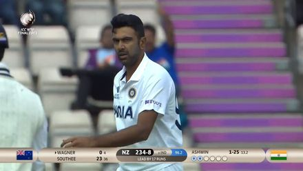 Ashwin removes Wagner for a duck | WTC21 Final | Ind v NZ