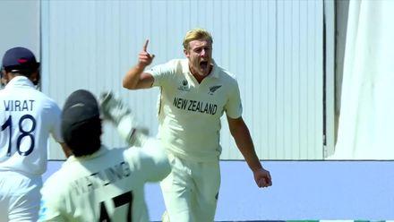 Jamieson snares Kohli again | WTC21 Final | Ind v NZ