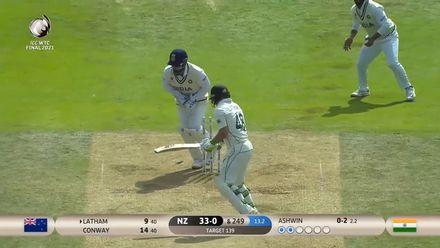 Latham gets stumped | WTC21 Final | Ind v NZ