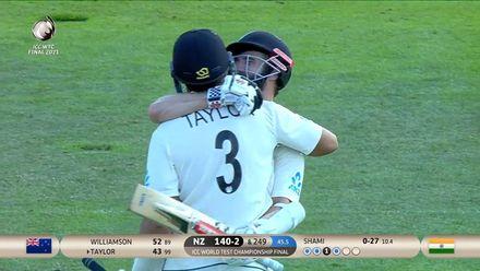 New Zealand winning moment | WTC21 Final | Ind v NZ