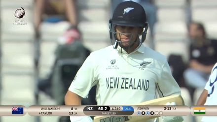 Ross Taylor finds the gap | WTC21 Final | Ind v NZ