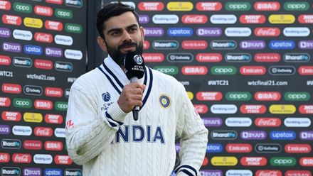 'Showed great consistency and heart': Kohli praises New Zealand | WTC21 Final | Ind v NZ