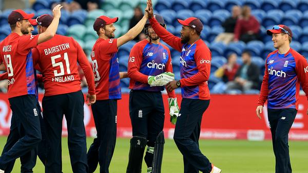 England take early T20I series lead over Sri Lanka