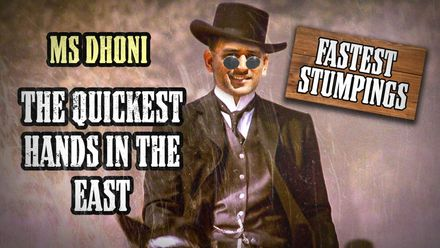 MS Dhoni: The quickest hands in the east