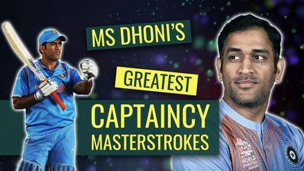 MS Dhoni: A tactical mastermind