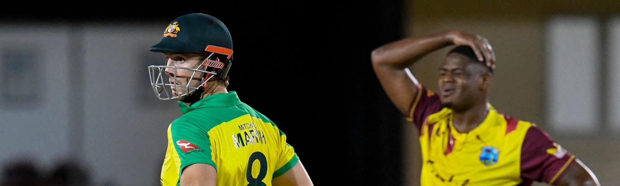 Marsh starred in Australia's win