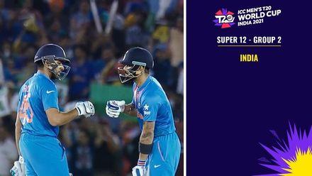 ICC Men's World Cup 2021 Super 12 Groups