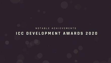 ICC Development Awards 2020: Notable achievements