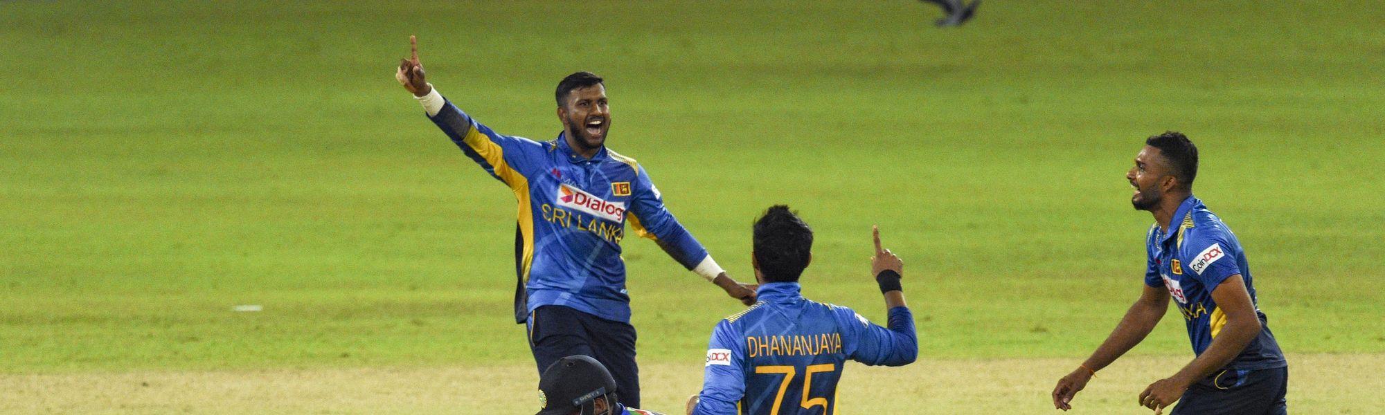 Sri Lanka second ODI