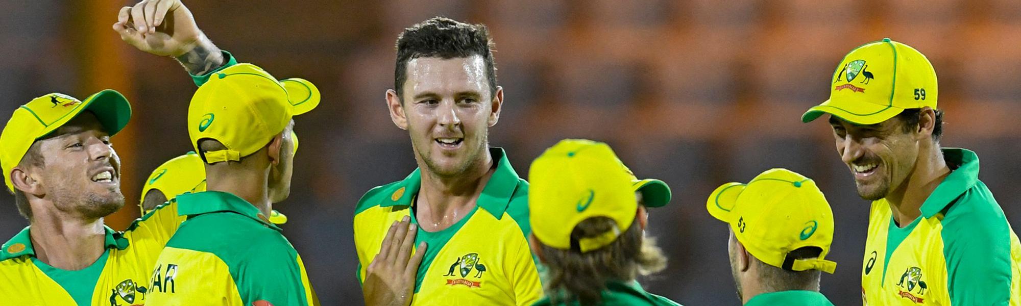 Starc and Hazlewood have climbed the ODI rankings