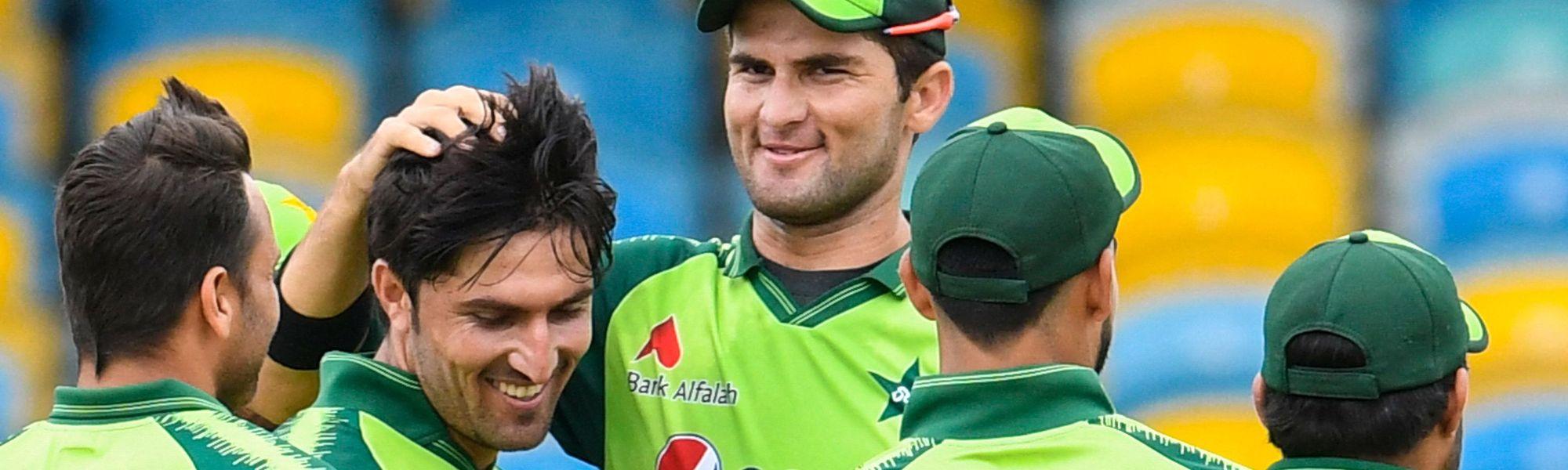 Pakistan first T20I v WI
