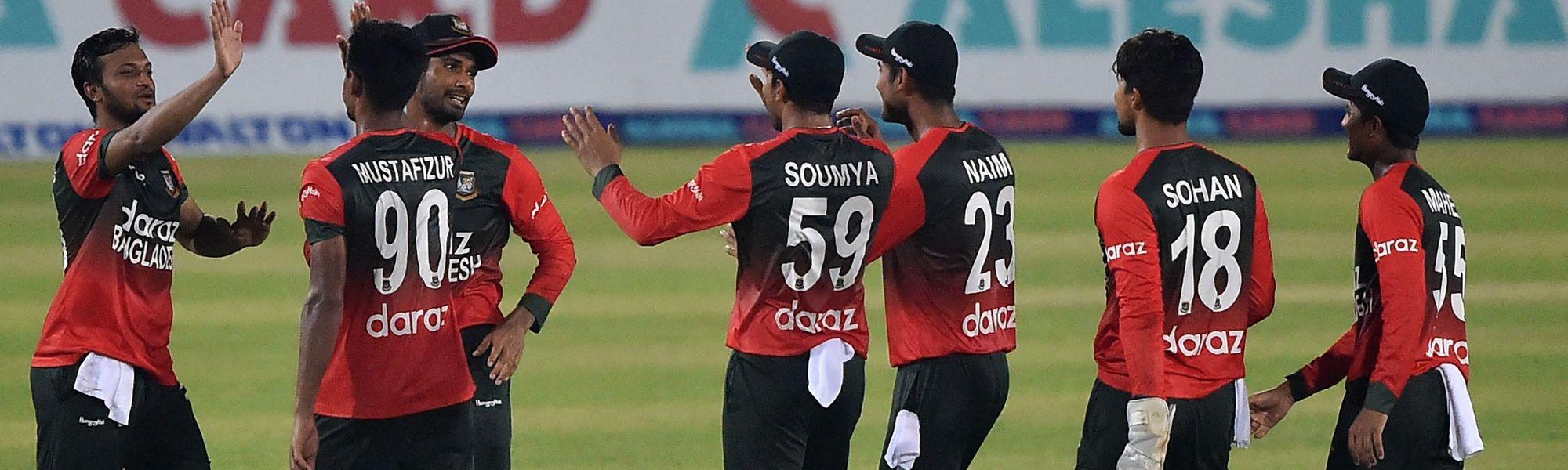 Bangladesh win first T20I against Australia