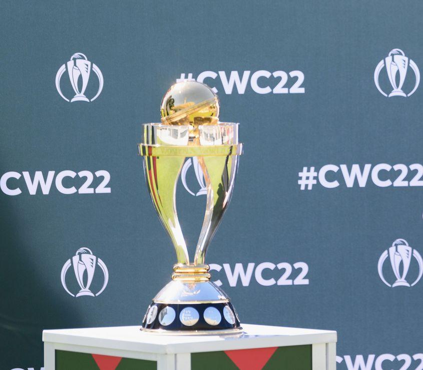 WWC22 trophy
