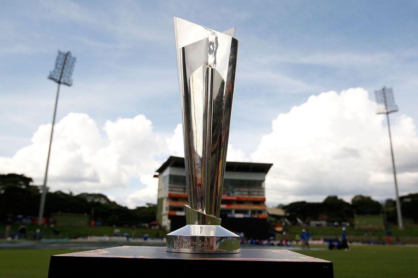 ICC Men's T20 World Cup trophy pic