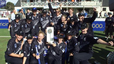 White Ferns' stars of today reminisce on 2000 World Cup win