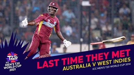 Last time they met – AUS v WI: Sammy pulls off thrilling chase