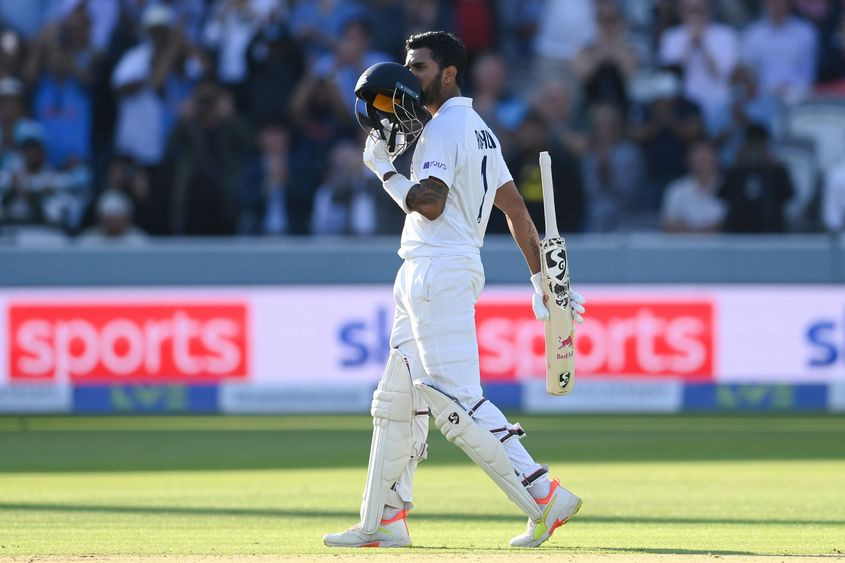 KL Rahul's first innings score of 129 against England has helped him soar to the 37th spot