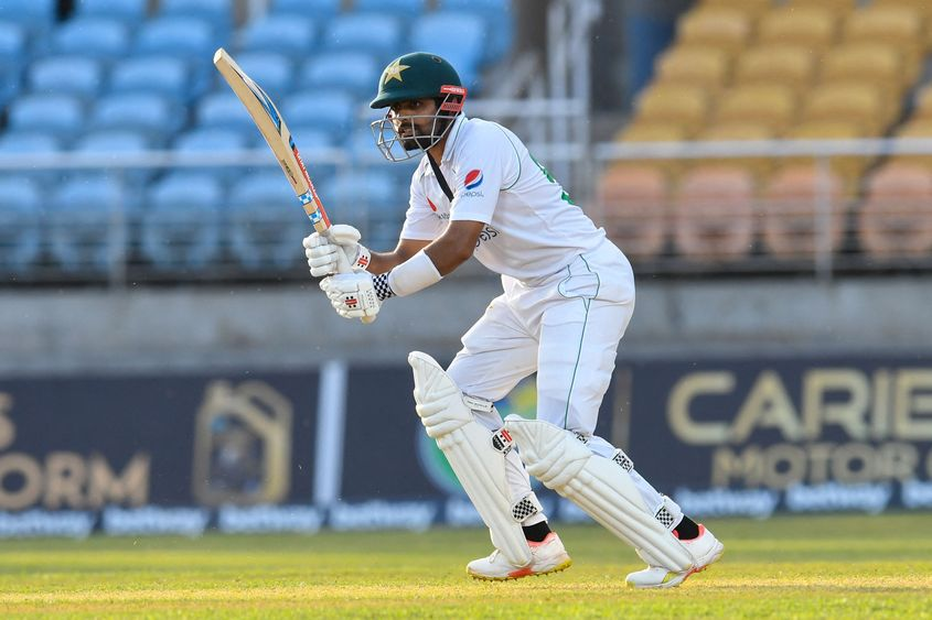 Babar Azam moves up by two spots to eighth position after hitting his 17th Test fifty