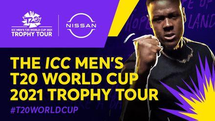 The ICC Men's T20 World Cup 2021 Trophy Tour