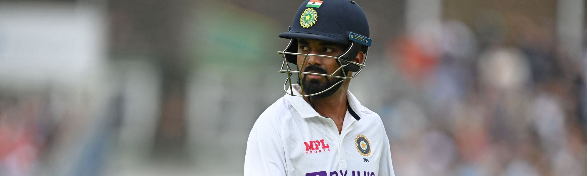 KL Rahul fined for dissent