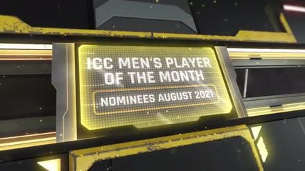 ICC Men's Player of the Month nominees – August 2021