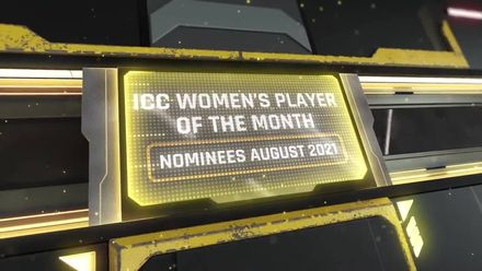 ICC Women's Player of the Month nominees – August 2021