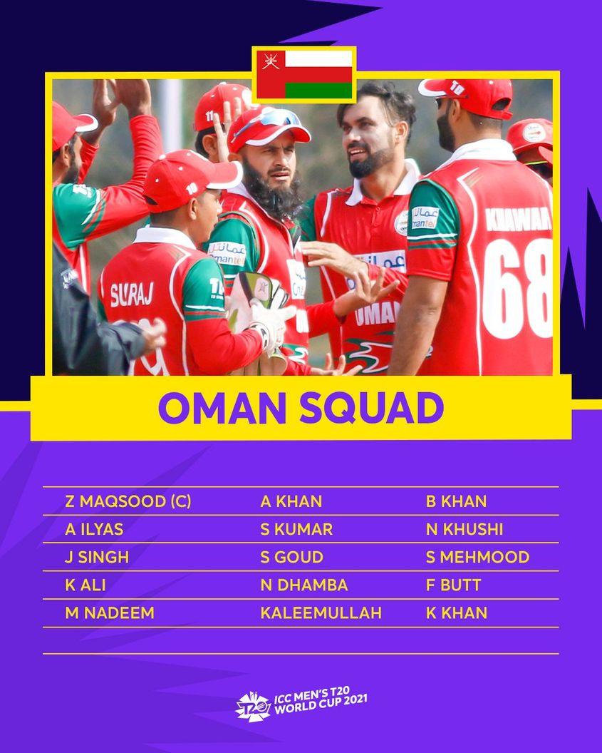 Oman – ICC Men's T20 World Cup 2021