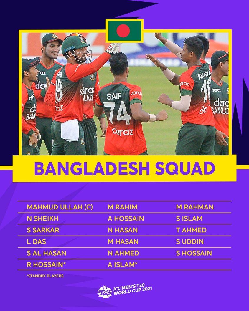 Bangladesh – ICC Men's T20 World Cup 2021