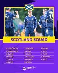 Scotland's Squad – ICC Men's T20 World Cup 2021