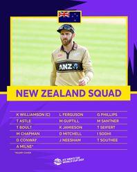 New Zealand – ICC Men's T20 World Cup 2021