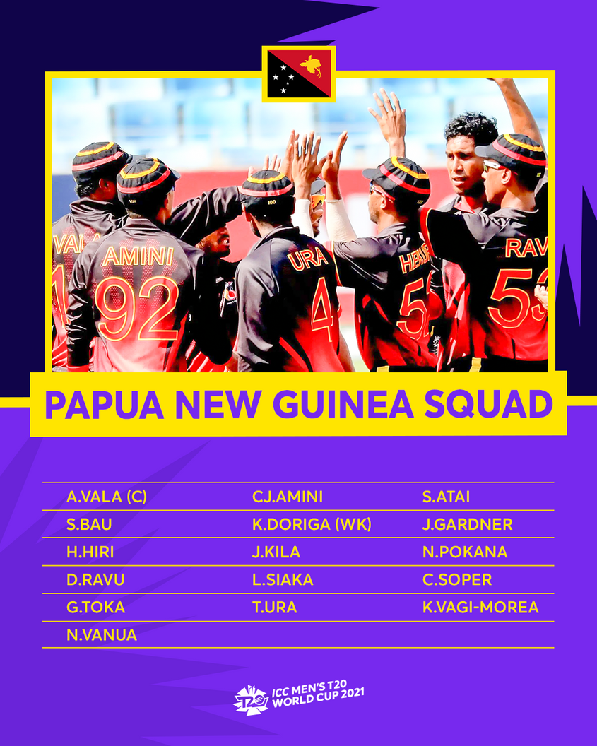 PNG – ICC Men's T20 World Cup 2021