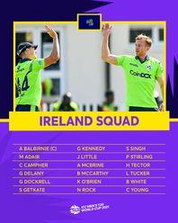 Ireland – ICC Men's T20 World Cup 2021