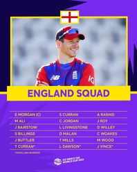 England – ICC Men's T20 World Cup 2021