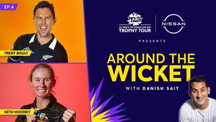 Around The Wicket with Danish Sait | Episode 4 ft. Trent Boult and Beth Mooney