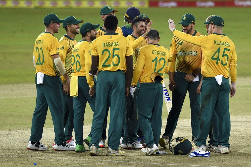 South Africa win first T20I