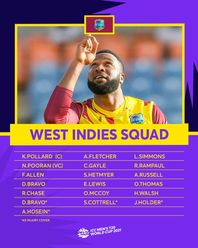 West Indies – ICC Men's T20 World Cup 2021