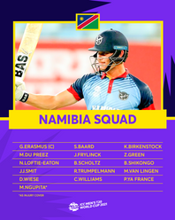 Namibia – ICC Men's T20 World Cup 2021