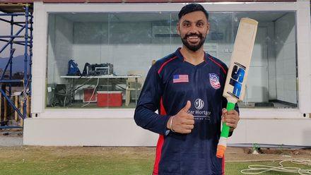 Jaskaran Malhotra's six sixes in an over | USA v PNG