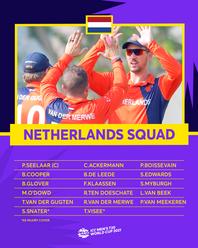 Netherlands – ICC Men's T20 World Cup 2021