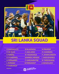 Sri Lanka – ICC Men's T20 World Cup 2021